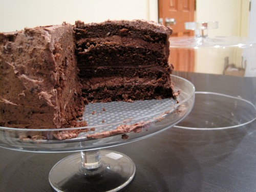 Chocolate Espresso Fudge Cake